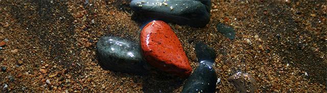 sand und stein rot