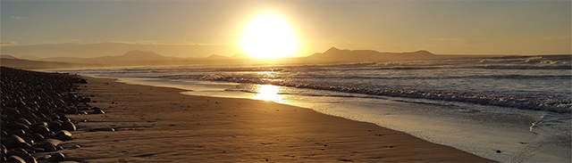 Sonnenuntergang in Famara
