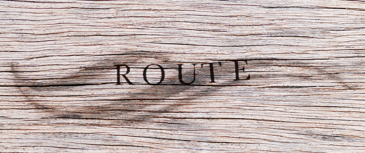Cruise and Surf die Route